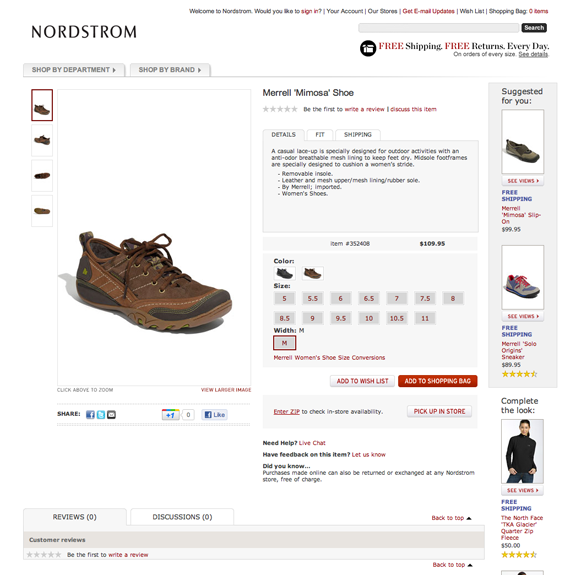 Product Variations for eCommerce websites
