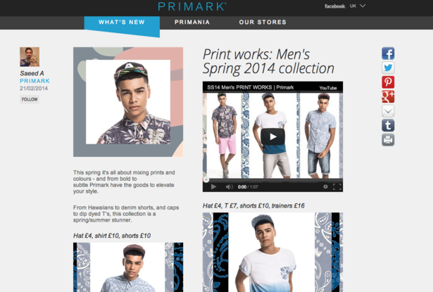 managing marketing in primark Project director - primark house a highly skilled and experienced cio/technology director with an outstanding record of managing the writing a marketing plan.